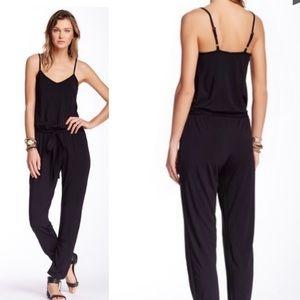 Tart Black Lily Jumpsuit
